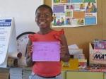 Zanele, age 10