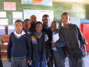 Nolwazi, Sebetsang and other grade 7 learners thank you!