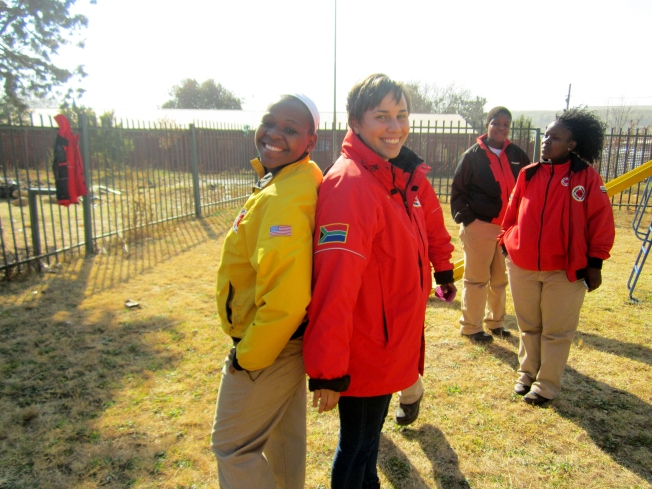 City Year America and City Year South Africa unite!