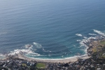 View from the top of Table Mountain - the Atlantic Ocean