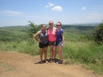 Amy, Charlotte and I in Hluhluwe