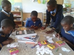 Creating coloured labels for our library books