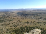 View from the top of Isandlwana