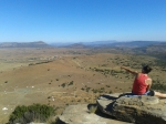Tour guide Katie in Isandlwana (close to her site)